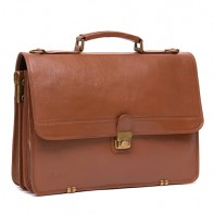 Ken – Leather Briefcase